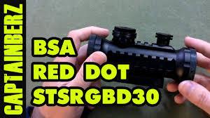 Bsa Red Dot Laser Light Combo Red Dot Laser Scopes New Bsa Stealth Tactical Illuminated