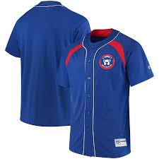 Jersey Fashion Power Chicago Royal Men's Cooperstown Peak red Collection Majestic Cubs