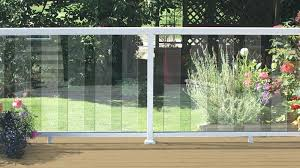 glass railing system home depot glass deck railing systems home depot