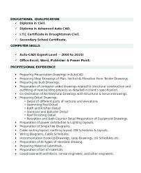 Drafting Resume Examples Magnificent Draftsman Resume Sample Fresh Photograph Of Architectural Draftsman