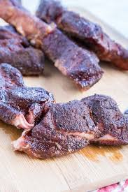 smoked country style ribs dinners