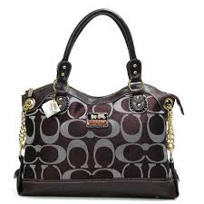 Coach Legacy Pinnacle Lowell In Signature Large Coffee Satchels ADV pd7BZJ2y