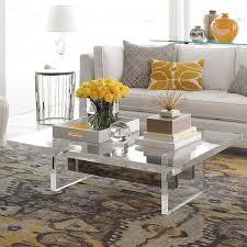love this chunky acrylic coffee table acrylic coffee tables nz