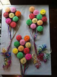 Happy Birthday Balloon Cupcakes Fun Cake Ideas Cupcakes