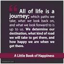 life's a journey not a destination essay