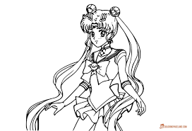 Small Picture Anime Coloring Pages Downloadable and Easy Printable Images