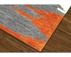 orange and gray area rugs orange and gray area rug orange and grey area rug chic