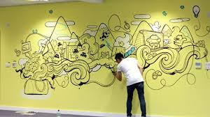 office wall designs. 21 Incredibly Cool Design Office Murals Mural Creative And Walls Wall Designs I