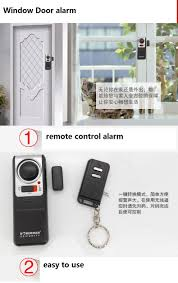 Door Alarm Sensor Windonw Alarm Sensor Se 0119 Wireless Door Alarm ...