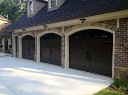 3 car garage finished in rustic distressed gany 678 894 1450 masterpiecedoors