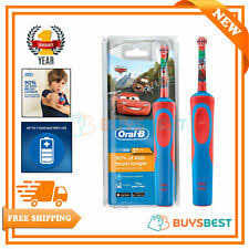<b>Oral</b>-<b>B</b> Child Brushes Blue Electric Toothbrushes for sale | eBay