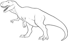 print t rex coloring page coloring book