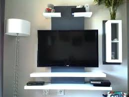 wall mounted tv stand ikea wall mounted hung television height cabinet images