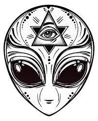 Cool Alien Drawings