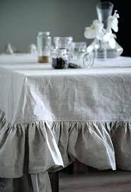 gray round tablecloth ruffled linen small ruffle tab plastic dark 60x120 gray round tablecloth charcoal grey whole satin plastic