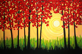 easy canvas painting paintings simple art
