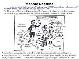 westward expansion pinellas version monroe doctrine