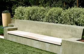 concrete garden bench. Large Concrete Garden Benches Bench