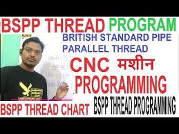 Cnc Programming Bspp Thread Program Bspp Threading