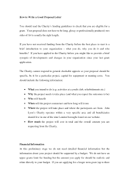 How To Write A Job Proposal Letter Inspirationa Free Cover Letter ...