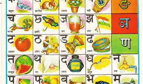 Hindi Letters Chart With English Hindi Varnamala Chart With Pictures Best Picture Of Chart