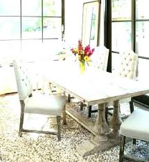 rustic white dining table. Exellent Table Dining Table And Chairs Contemporary Distressed White Room  Images Throughout Rustic White Dining Table