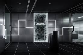 エントランス受付のレイアウトデザイン事例 東京のオフィス