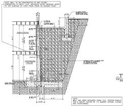 Small Picture Retaining Wall Engineering Design Home Design Ideas