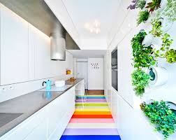 modern kitchen colors 2017. White-kitchen-with-bright-floor-sabo-studio Modern Kitchen Colors 2017 O