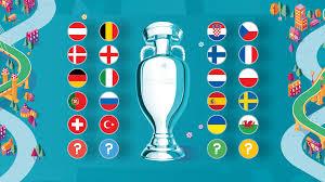 Uefa Euro 2020 Meet The Qualified Teams Uefa Euro 2020