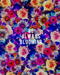 Quotes About Flowers Blooming Gorgeous Like I Said Be Always Blooming JungalowJungalow