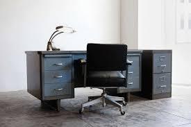 double pedestal tanker desk refinished 3