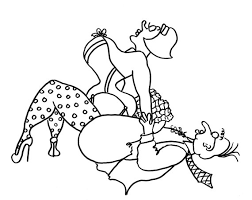 Small Picture The Ape Funny Sexy Coloring Pages for Adults from the Chubby Art