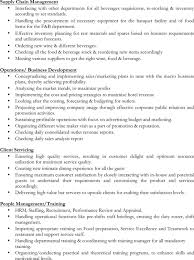 Download Restaurant Shift Manager Resume For Free Page 3