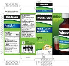 Robitussin Mucus Plus Chest Congestion