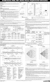 Honeywell Motion Sensor Red Light 0600906 Microwave Pir Motion Sensor User Manual 505134401e