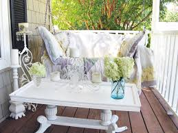 Easy Patio Decorating Shabby Chic Decorating Ideas For Porches And Gardens Gardens