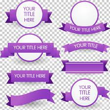 Purple Ribbon Banner Purple Ribbon Euclidean 8 Purple Ribbon Banner Material