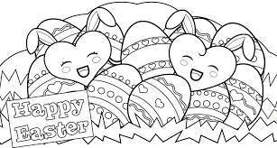 Easter Eggs To Print And Color Free Coloring Page Easter Eggs