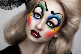 woman clown makeup photo 2