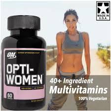 opti women 100 vegetarian optiwomen multivitamins 60 caps