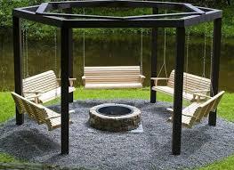 Playful Garden Furniture Swings Adding Fun to Backyard Landscaping