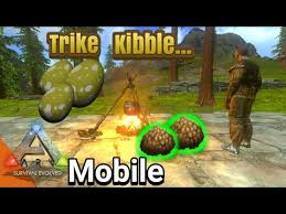 how to make trike kibble in ark mobile