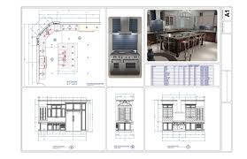 Kitchen Floor Plans Designs Interior Designs Detailed Kitchen Layout Plans Design Image 10