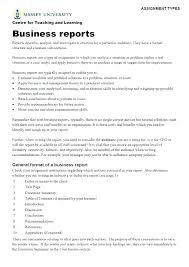 Short Business Report Sample Formal Report Template Short Format Sample Business Word Re