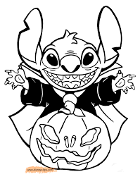 Small Picture disney halloween coloring pages 4 disney s world of wonders