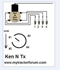 ford 9n sparkplug wires mytractorforum com the friendliest click image for larger version firing order jpg views 939 size