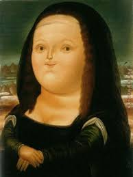 mona lisa painting fernando botero mona lisa art painting