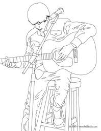 Small Picture Justin bieber playing guitar coloring pages Hellokidscom