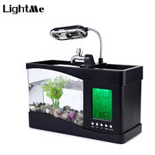 office desk fish tank. Mini Electronic Usb Desktop. 2016 New USB Fish Tank Office Desk